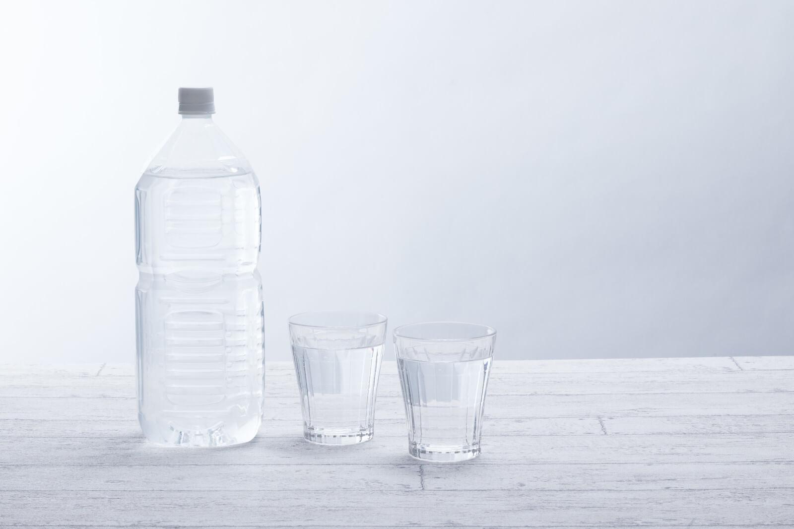 おっぱい不足に水を飲む